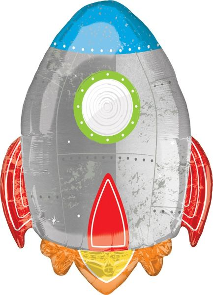 "29"" Blast Off Birthday Balloon"