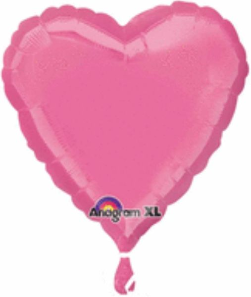 Heart 34 Rose Mylar Balloon 18""
