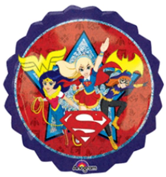 "28"" DC Super Hero Girls Balloon"