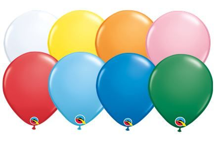 "01A Standard 11"" Qualatex Latex 