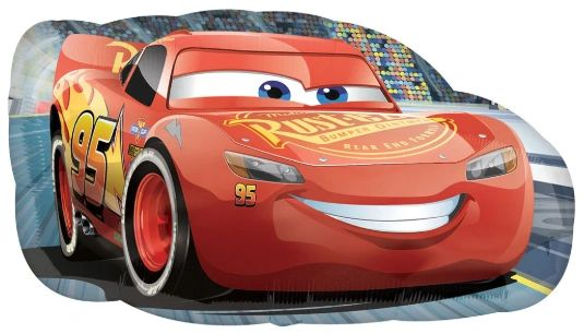 "30"" Cars LIghtning McQueen Balloon"