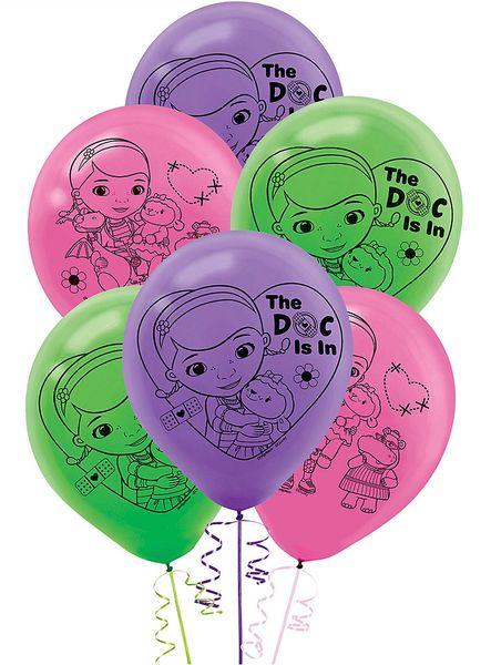 Doc McStuffins Latex Balloons, 6ct