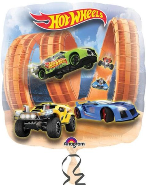 "28"" Hot Wheels Racer Balloon"