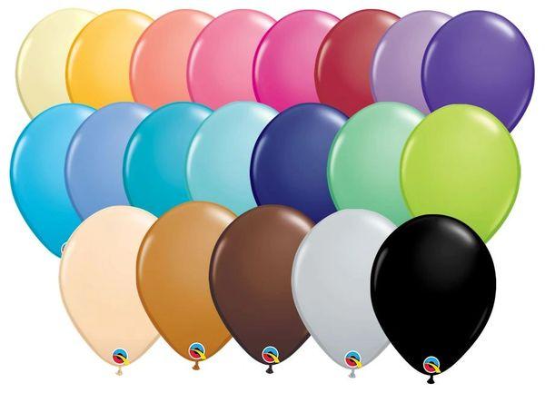 "01B Fashion Selection, 11"" Qualatex Latex | Single Balloon"