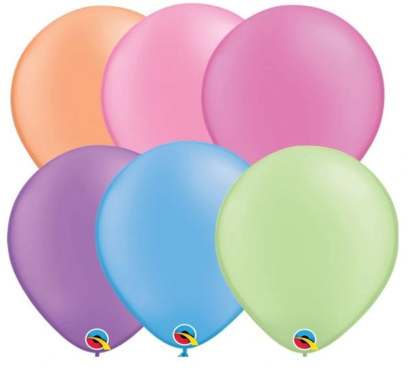 "01C Neon Selection, 11"" Qualatex Latex 