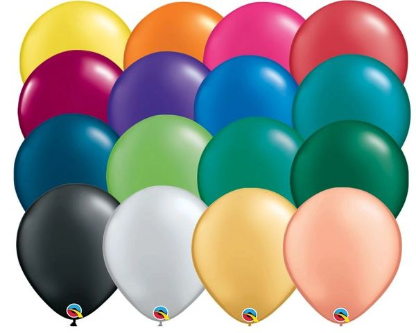 "01D Pearl Selection, 11"" Qualatex Latex 