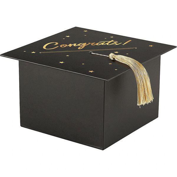 Congrats Black Cardholder Box