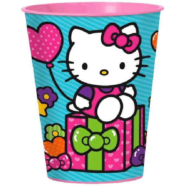 Hello Kitty Rainbow 160z cup