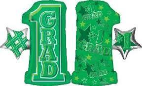 #1 Grad Shape Green