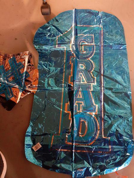 #1 Grad Shape Blue