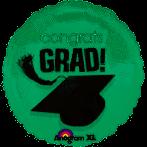 """18"""" Congrats Green Grad"""