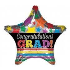 """Congrats Star/Strips 18"""""""