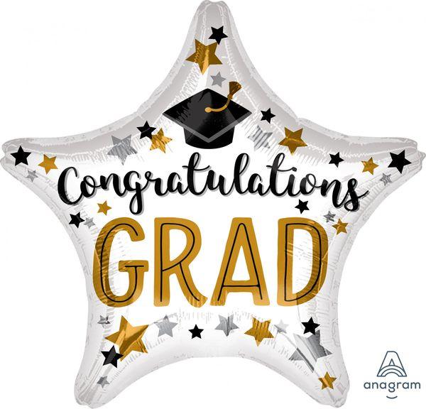 """18"""" Congratulations grad star"""
