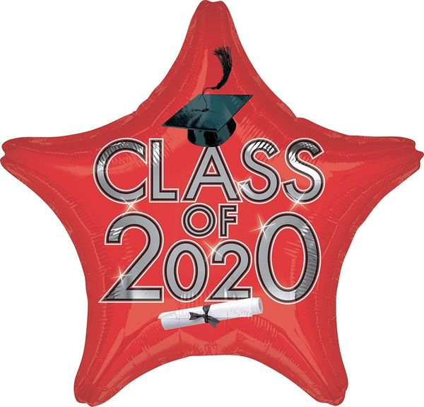 """18"""" class of 2020 Red"""