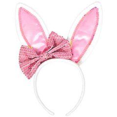 Bunny Ears w/Bow Headband