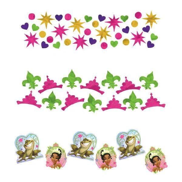 Disney Tiana Enchanted Value Confetti