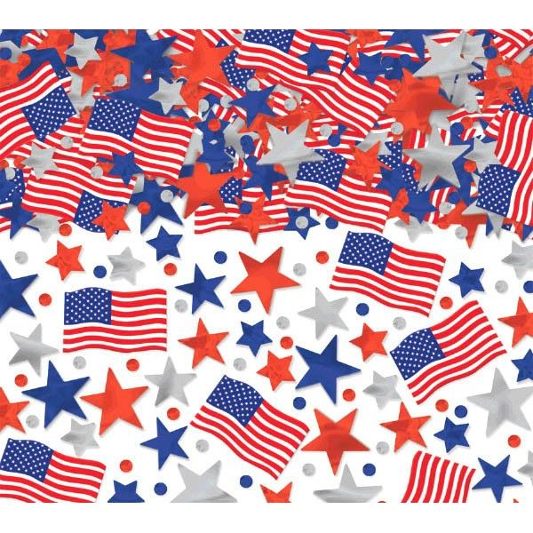 Patriotic Mega Value Confetti Mix