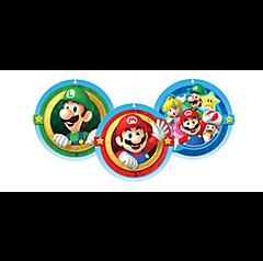 Super Mario Brothers™ Honeycomb Decorations