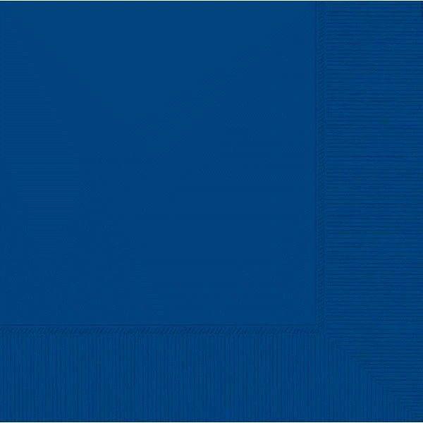 Bright Royal Blue 2-Ply Beverage Napkins, 50ct