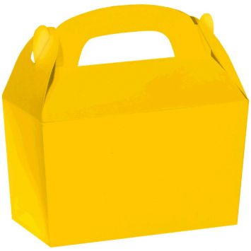 Gable Box Bulk - Sunshine Yellow