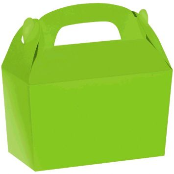 Kiwi Green Gable Box