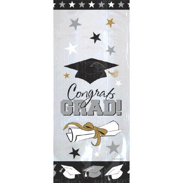 Graduation Cello Bags, 20ct
