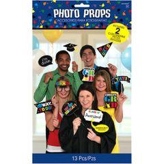 Grad Photo Props, 13ct
