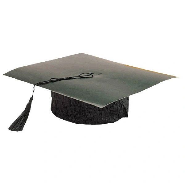 Black Mini Grad Hat