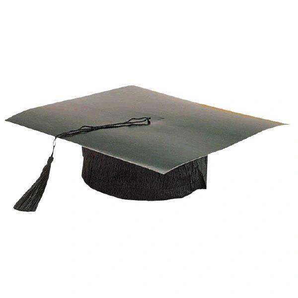 Black Mini Grad Hat