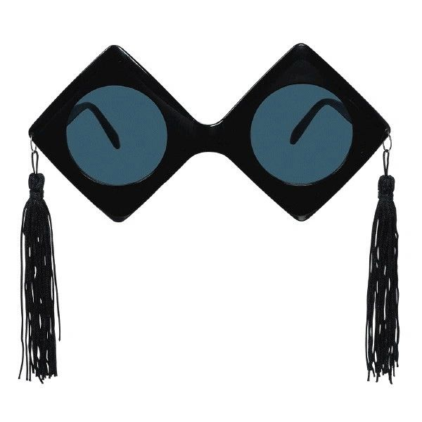 Grad Caps Giant Glasses