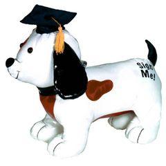Grad Dog Autograph Plush