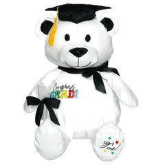 Graduation Bear Autograpgh Plush