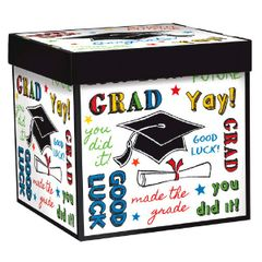 Grad Medium Pop-Up Gift Box