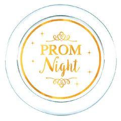 "Prom Night Plastic Appetizer Plates, 6"" - 16ct"