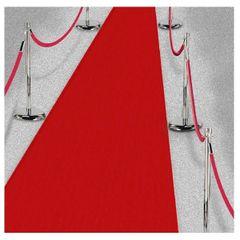 Fabric Aisle Runner - Red, 40ft
