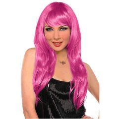 Glamorous Long Pink Wig