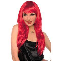 Glamorous Long Red Wig