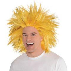 Gold Crazy Wig