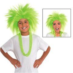 Neon Crazy Wig