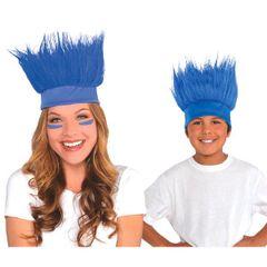 Blue Crazy Hair Headband