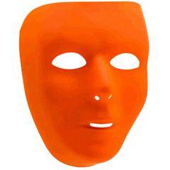 Orange Full Face Mask
