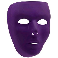Purple Full Face Mask