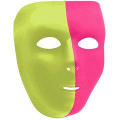 Neon Full Face Mask