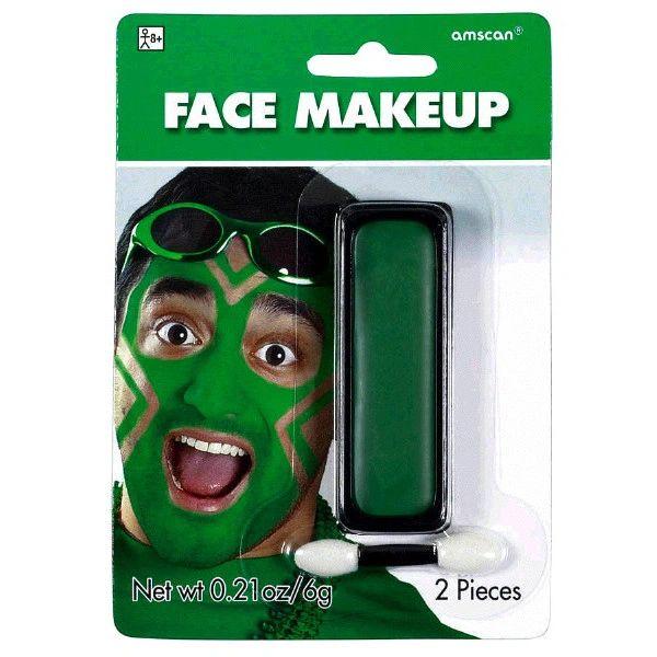 Green Face Makeup