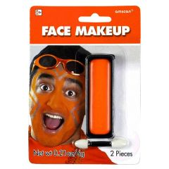 Orange Face Makeup