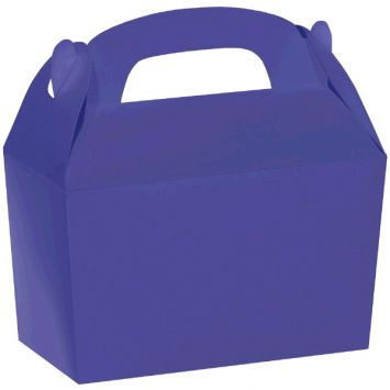 New Purple Gable Box