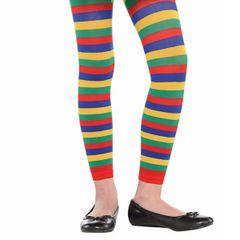 Child Rainbow Footless Tights