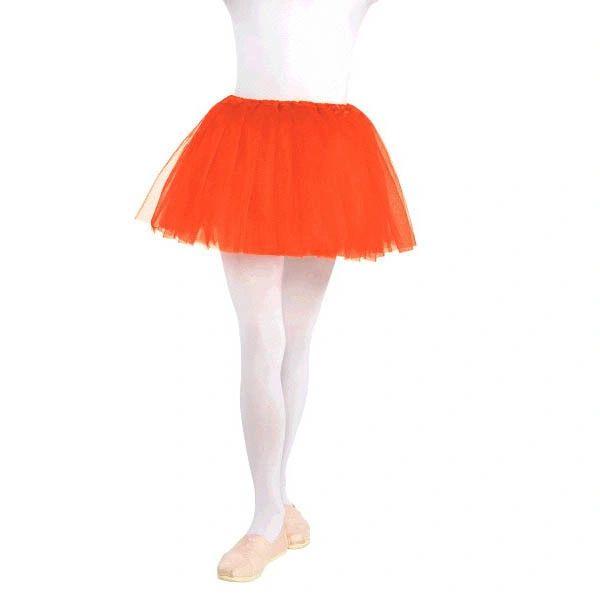 Child's Orange Tutu
