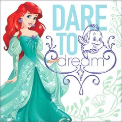 ©Disney Ariel Dream Big Luncheon Napkins