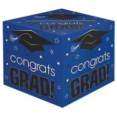 Blue Grad Card Box Holder